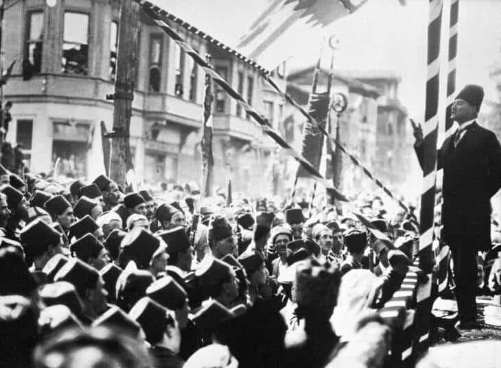 Die Türkei von Atatürk (hier) zu Erdogan