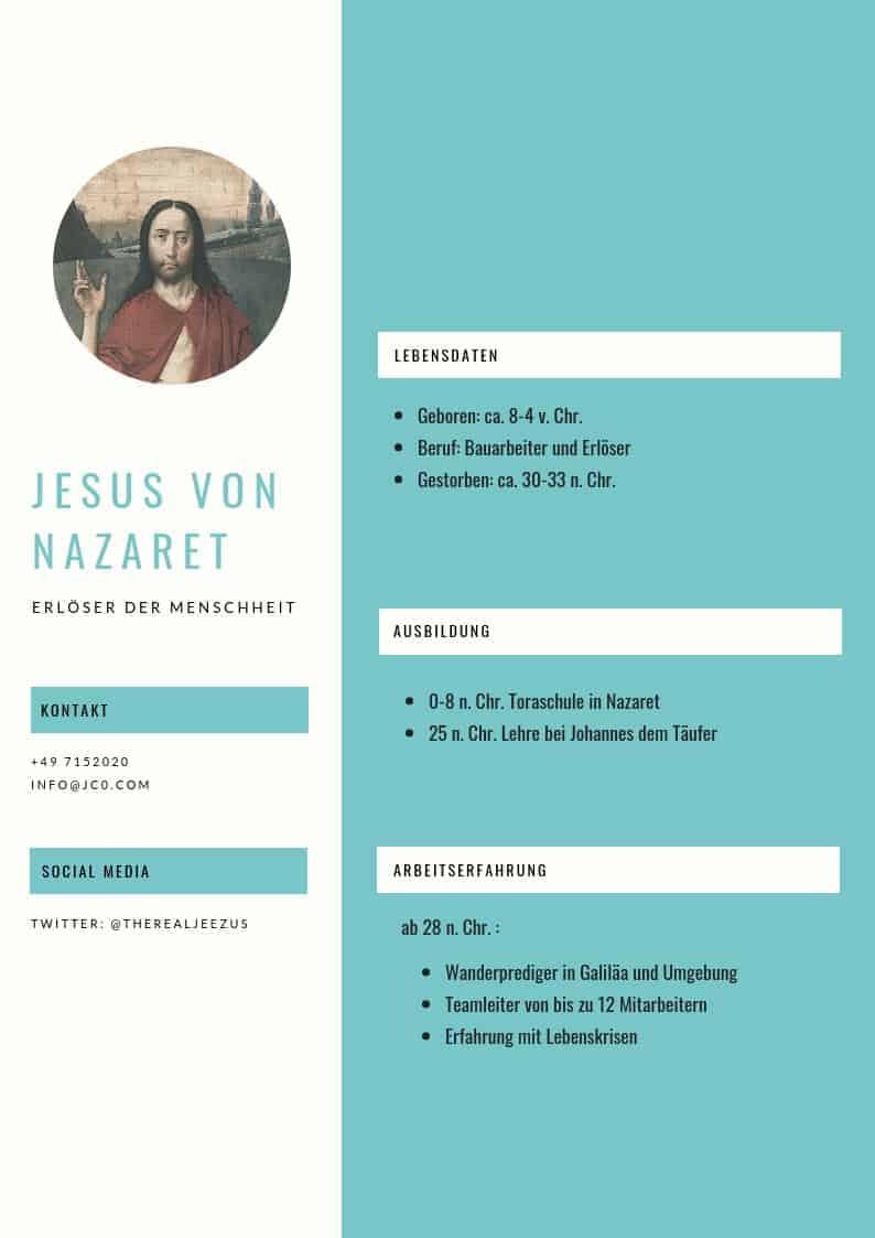 Jesus Und Die Unmoglichkeit Eines Lebenslaufes 13