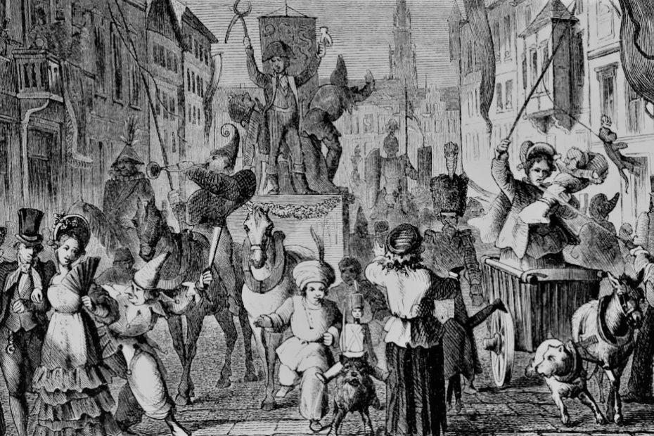 Eine Geschichte von Karneval und Fasching