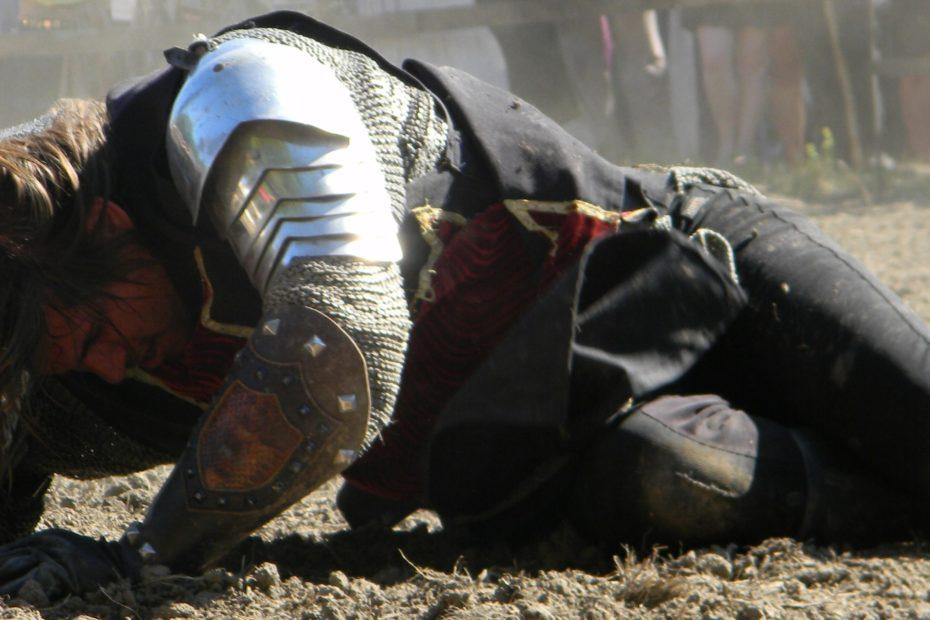 Das Mitelalter wird im Film oft so dargestellt: Gewalttätig und heldenhaft